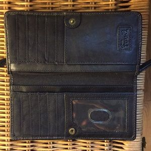 Fossil Bags - Black Fossil Wallet